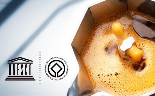 Premiato caffè Unesco