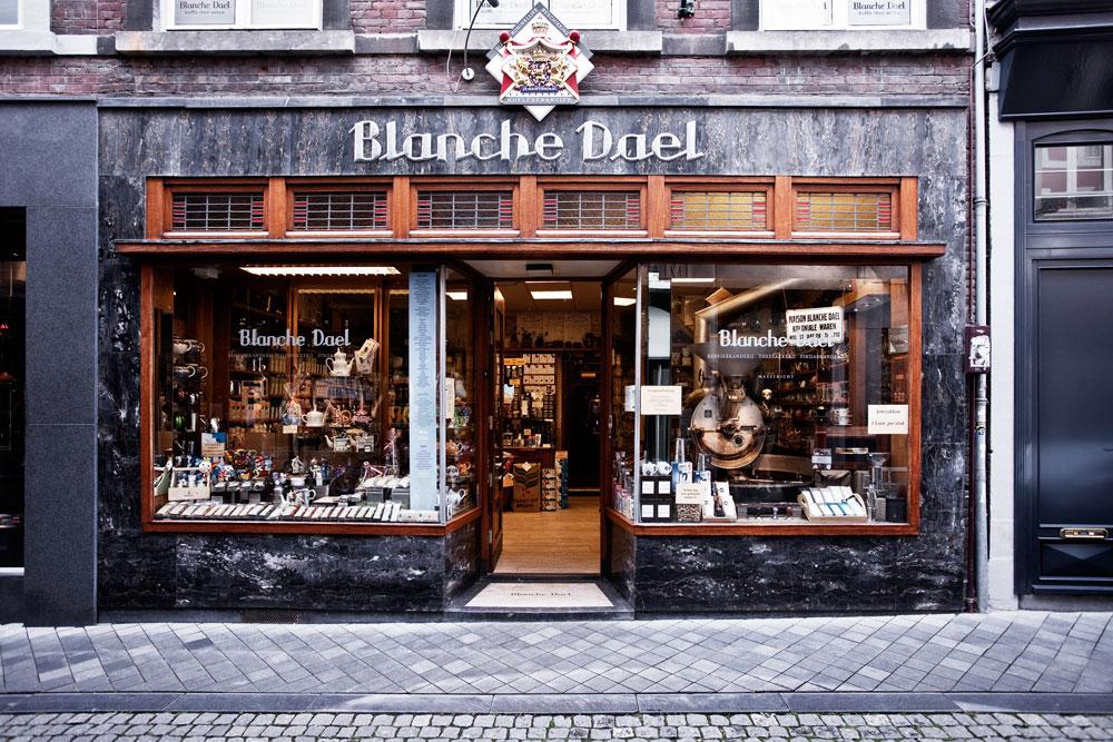 Blanche Dael, Maastricht: evoluzione di una vecchia torrefazione