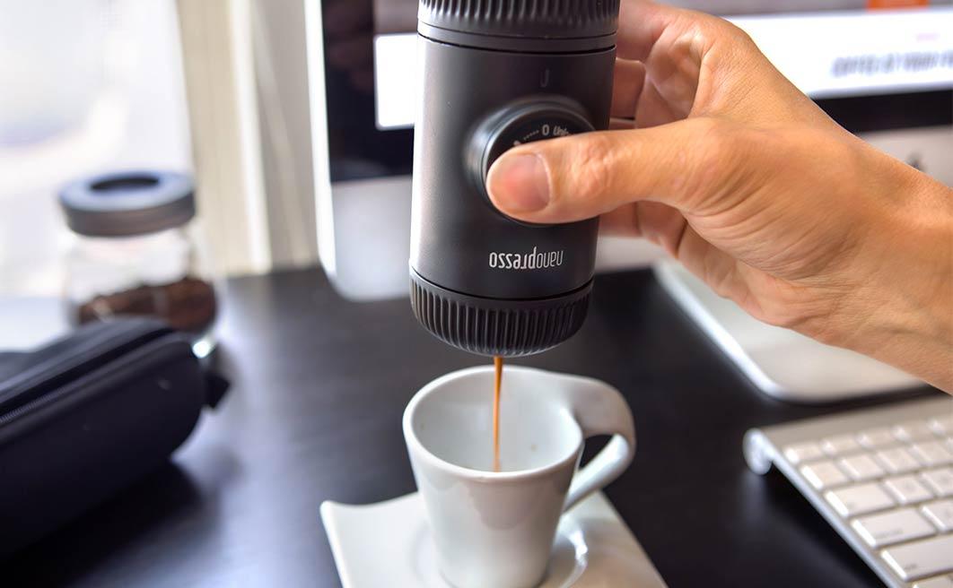 L'espresso diventa nano. E da viaggio