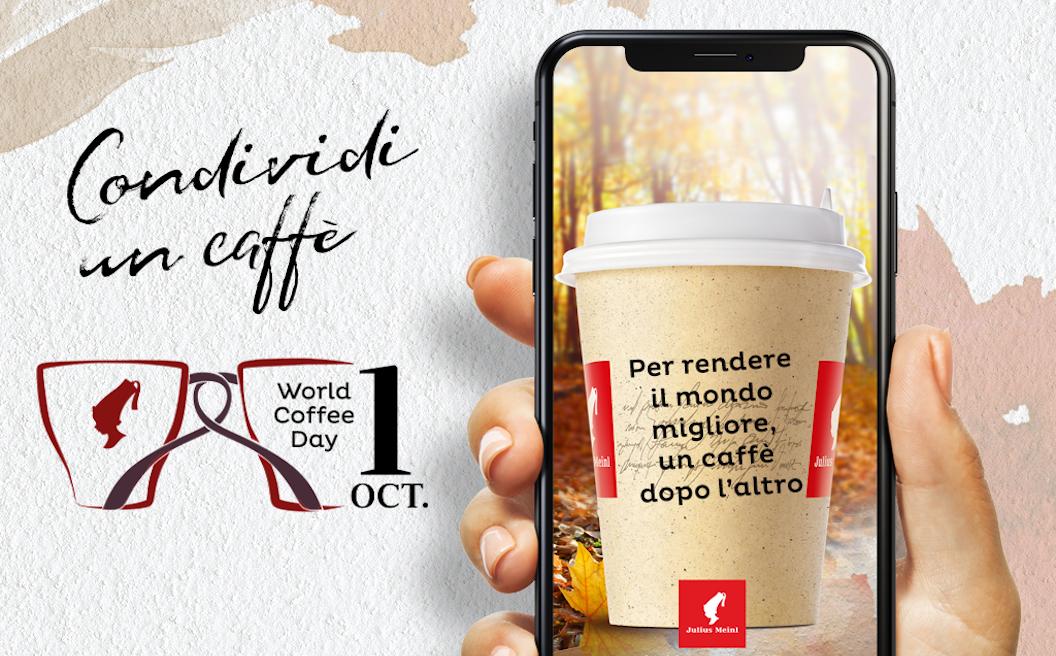 Giornata mondiale del caffè tra poesia e iniziative benefiche per Julius Meinl