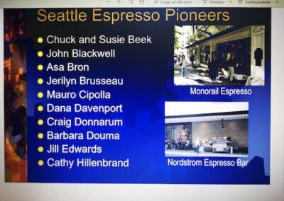 Mauro Seattle Espresso Pioneers by La Marzocco