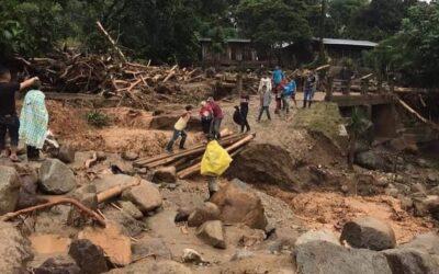 Un caffè per raccogliere fondi dopo le devastazioni dell'uragano Eta