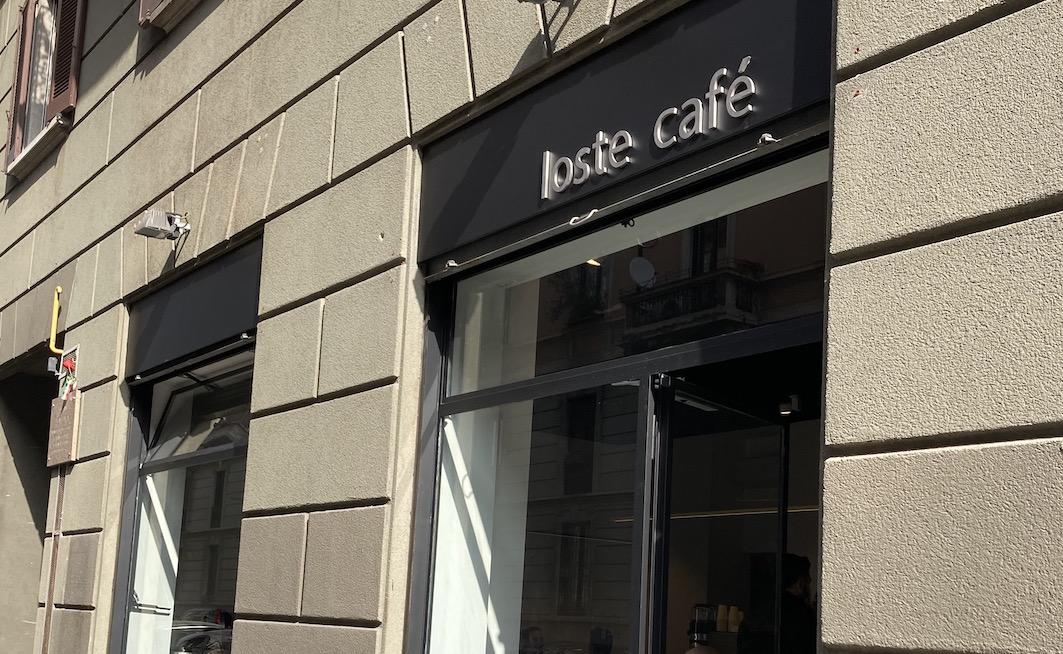 Con caffè, vino e paste Loste arriva a Milano